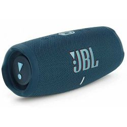 JBL Charge 5, portable bluetooth speaker with powerbank, water/dust proof, IPX67, Blue