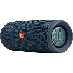 JBL Flip 5, portable bluetooth speaker with rech. Battery, water proof IPX7, Blue
