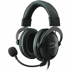Kingston  HyperX Cloud II - Pro Gaming Headset (Gun Metal), EAN: 740617235678