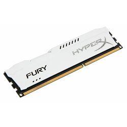 Kingston DDR3 HyperX Fury,1866MHz, 4GB White
