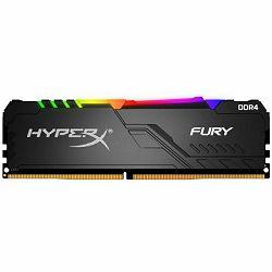 Kingston HyperX Fury RGB DDR4 8GB, 2400MHz, CL15