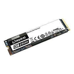 Kingston KC2500 NVMe 250GB,R3500/W1200, M.2 2280