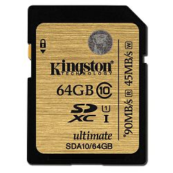 Kingston SDA10 Ultimate U1, Class 10, 64GB