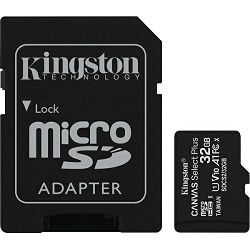 Kingston microSDXC, Select plus, Class10, 32GB