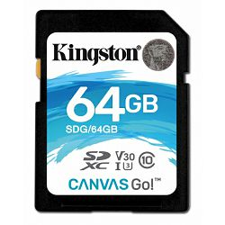 Kingston Canvas Go!, R90MB/W45MB, 64GB