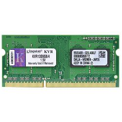 Kingston DDR3 1333MHz, CL9, SODIMM, SR, 4GB