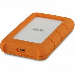 Lacie 2TB Rugged Secure USB 3.1 Type C w/ Rescue, STFR2000403