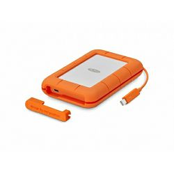Lacie 2TB Rugged Thunderbolt & USB 3.1 Type C w integrated cable, STFS2000800