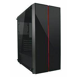 LC-Power 994B Vitreous TG, RGB, crno bez nap.