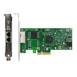 ThinkSystem I350-T2 PCIe 1Gb 2-Port RJ45 Eth Adapt