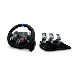 Logitech G29 Driving Force volan i papučice, PS4