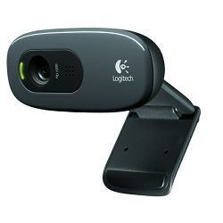 Logitech HD C270, 720p, web kamera