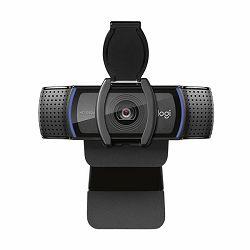 Logitech C920s web kamera, crna