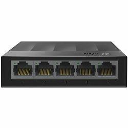 Switch TP-Link LS1005G, 5-Port 10/100/1000Mbps Desktop Switch, Auto-Negotiation RJ45 port, supporting Auto-MDI/MDIX