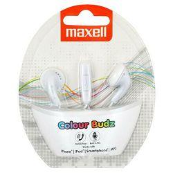 Maxell Stereo colour slušalice, bijele, mikrofon