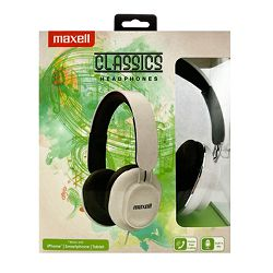 Maxell Classic slušalice, bijele