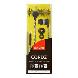 Maxell Cordz slušalice, mikrofon, crne