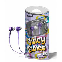 Maxell Juicy tunes slušalice, ljubičaste