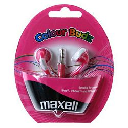 Maxell Stereo colour slušalice,ružičaste