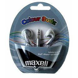 Maxell Stereo colour slušalice,srebrne