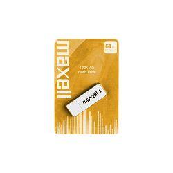 Maxell USB 2.0, 64GB, bijeli