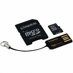 Kingston  64GB Multi Kit (Class 10 microSD + SD adapter + USB reader) Android, EAN: 740617231403