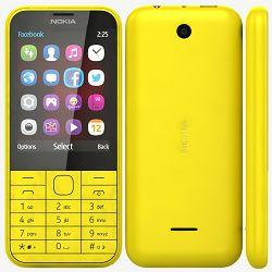 Mobitel Nokia 225 DS, žuti