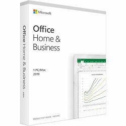 Office Home and Business 2019 Croatian EuroZone Medialess P6, T5D-03304