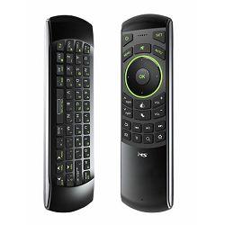 MS FLY 3u1 smart IR univerzalni daljinski upravljač s funkcijom učenja, smart TV mini tipkovnica s 45 tipki (QWERT), bežični zračni miš s 24 tipki. IR i  USB sučelje, ugrađena Li-ion baterija