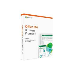 Microsoft Office 365 Business Premium Eng retail Medialess, pretplata 1 godina, KLQ-00388