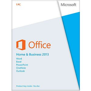 MS Office Home and Business 2013 Eng Dwnld licenca