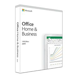 Microsoft Office Home and Business 2019 Eng Medialess, T5D-03216