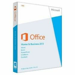 MS Office Home and Business 2013 Eng Medialess