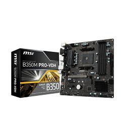 MSI B350M PRO-VDH, AM4, DDR4, U3, m.2, mATX