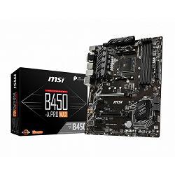 MSI B450-A Pro MAX, AM4, DDR4, U3, m.2, ATX