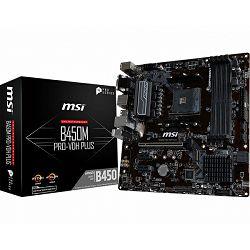 MSI B450M PRO-VDH PLUS, AM4, DDR4, U3, m.2, mATX
