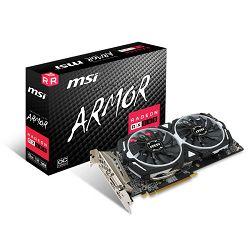 MSI RX 580 ARMOR 8G OC, 8GB GDDR5, DX12