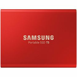 Samsung SSD T5 External 500GB 450 MB/s USB 3.1, 3 yrs, red