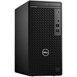 DELL OptiPlex 3080MT, Intel i3-10100 4.3GHz, 8GB RAM, M.2 256 GB NVMe SSD, Intel VGA, DP, HDMI, DVDRW, Ubuntu, tipkovnica i miš, 3Y