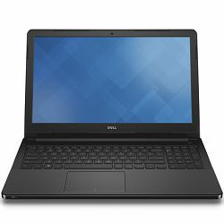 DELL Vostro 3568 15.6 HD(1366x768)AG LED, Intel i3-6006U(3M Cache, up to 2.00 GHz), 4GB DDR4, 500GB HDD, Intel HD, DVDRW, WiFi 802.11ac, BT 4.0, RJ-45, Cam, Mic, VGA, HDMI, 2xUSB 3.0, Linux, Black, 3Y