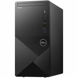 DELL Vostro 3888, Intel i5-10400 4.3GHz, 8GB (1x8GB) RAM, SSD 256GB M.2 PCIe NVMe, Integrated Graphics, CR SD 3.0, DVDRW, TPM, WiFi, BT, bez tipkovnice i miša, UBUNTU, 3Y