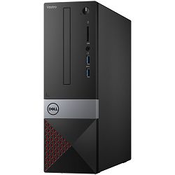 DELL Vostro DT 3471 - Intel i3-9100 4.2GHz, 4GB (1x4GB) RAM, 1TB HDD, Integrated Graphics, Dell Wireless 1707 Card, DVDRW, TPM, Linux, 3Y