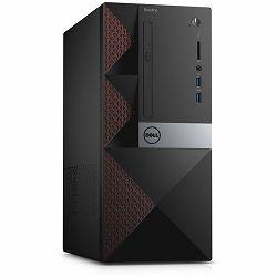 DELL Vostro 3668, Intel i3-7100 (3.90 GHz), 4GB DDR4, 500GB 3.5 SATA HDD, Intel HD 630, DVDRW, WiFi, BT, VGA, HDMI, RJ-45, 2xUSB 3.0, 4xUSB 2.0, CardReader, Keyboard+Mouse, Linux, 3Y