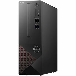 DELL Vostro 3681 - Intel i5-10400 4.3GHz, 8GB (1x8GB) RAM, SSD 512GB M.2 PCIe NVMe, Integrated Graphics, CR SD 4.0, DVDRW, WiFi, BT, bez tipkovnice i miša, Windows 10 Pro, 3Y