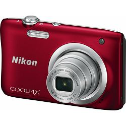 Nikon COOLPIX A100 Red + torbica + 16GB SD kartica