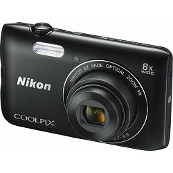 Nikon COOLPIX A300 Black (gratis SD/16GB + AcmeMade torbica)