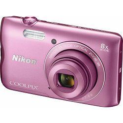 Nikon COOLPIX A300 Pink (gratis SD/16GB + AcmeMade torbica)