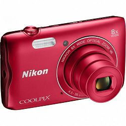 Nikon COOLPIX A300 Red (gratis SD/16GB + AcmeMade torbica)