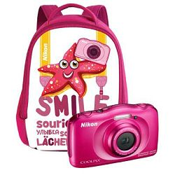 Nikon COOLPIX W100 Pink Backpack kit (ruksak)