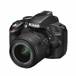 Nikon D3200 KIT WITH AF 18-55VR II BLACK
